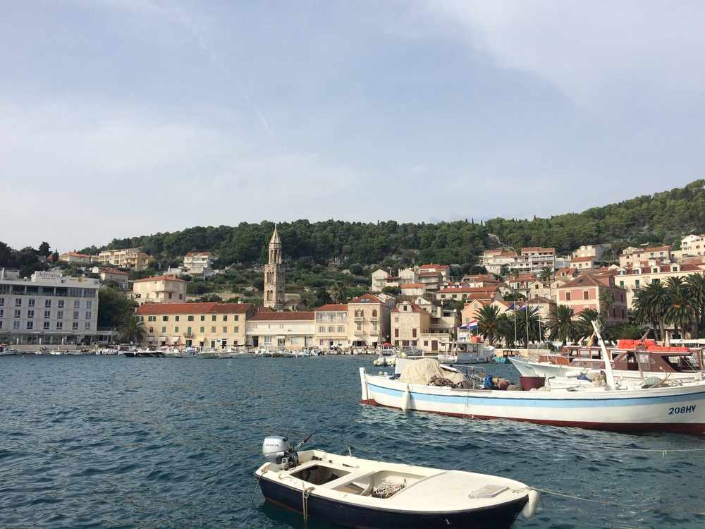 The old port of Hvar. I can't get over how wonderful every single city is! I've yet to be disappointed!