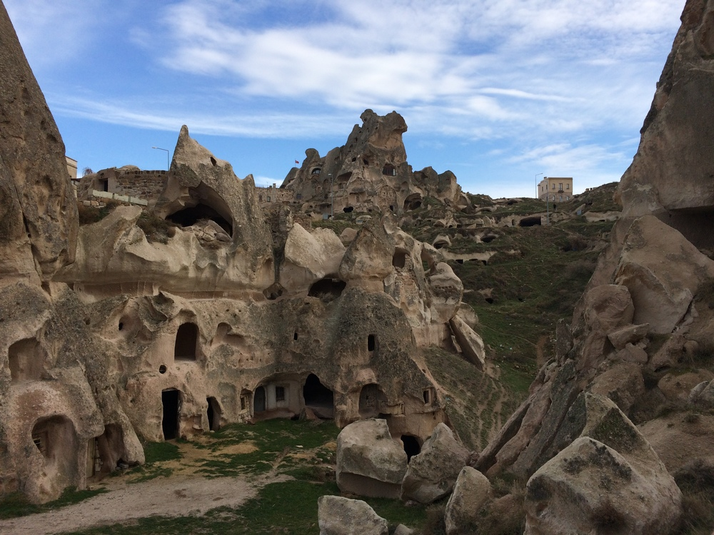 I can't tell you how many caves I saw in Uchisar... they are everywhere!