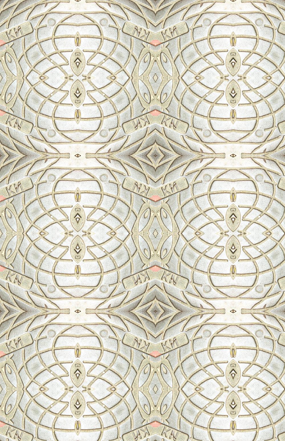 Manhole Cover II - Gold