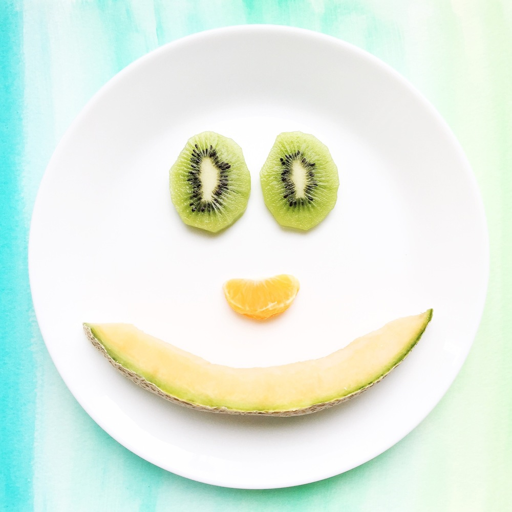 Melon food art