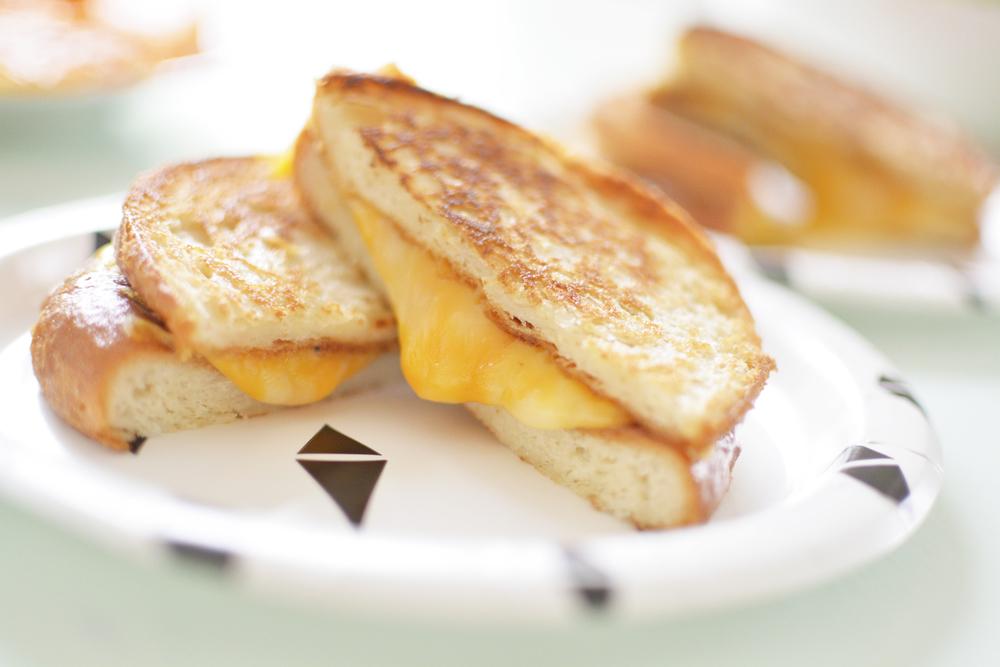gluten free grilled cheese