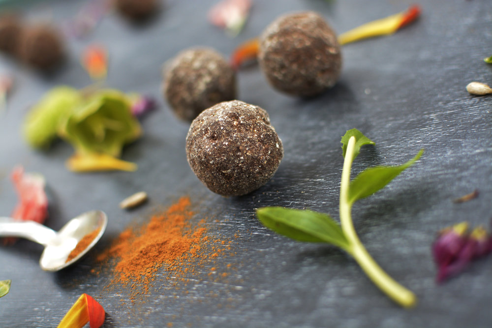Vegan truffle