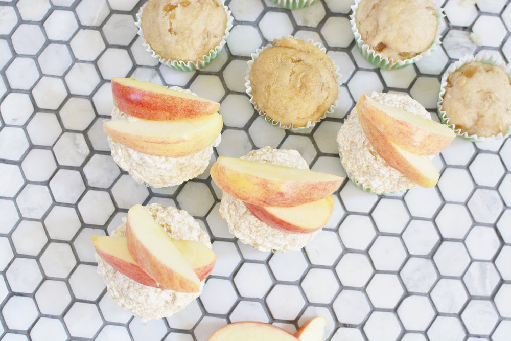 gluten free apple cinnamon cupcakes