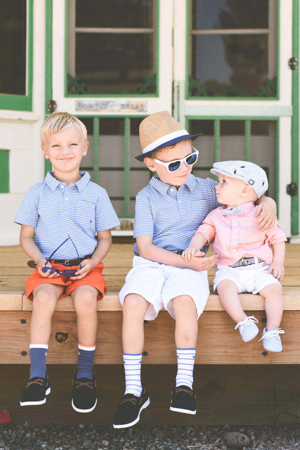 styling a little boys outfit with Janie and Jack. Lifestyle photography outfits