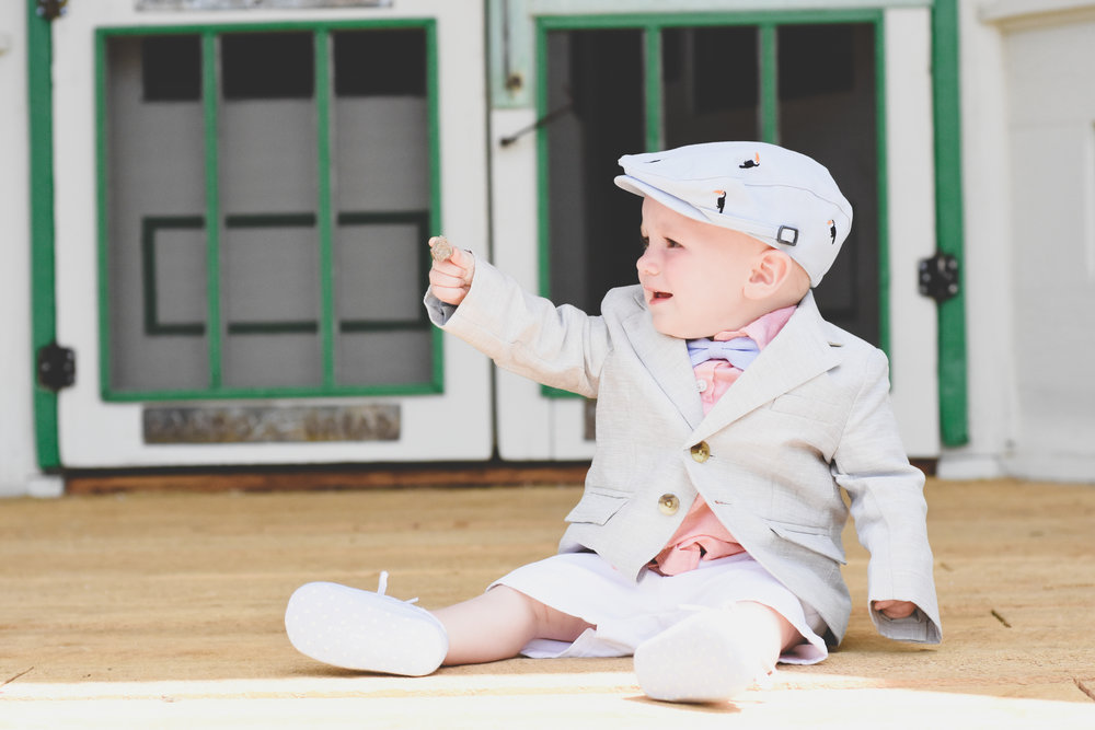 Baby boy styled outfit. Dapper boy outfit with Janie and Jack