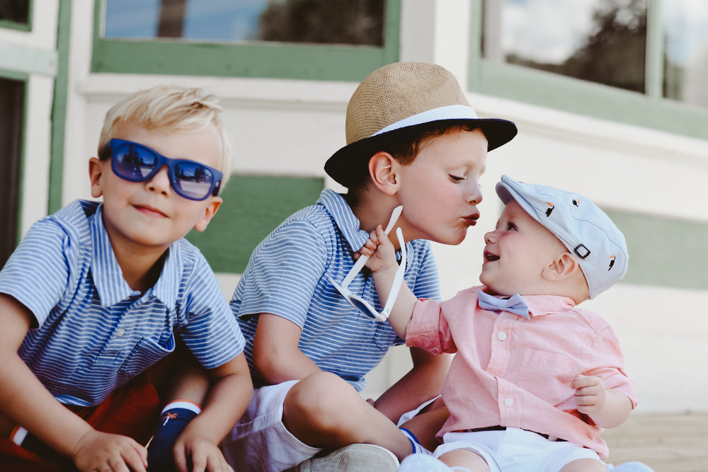 dapper boy style for family photos