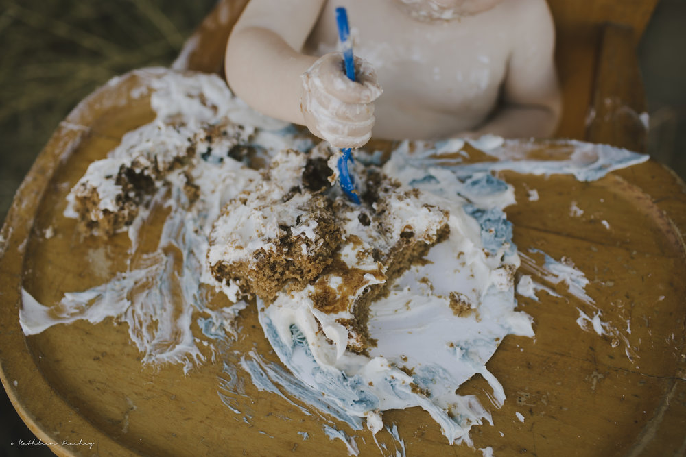 Vegan cake smash