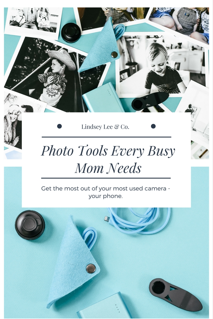 Photo Tools Every Busy Mom Needs. Tech tools for your phone
