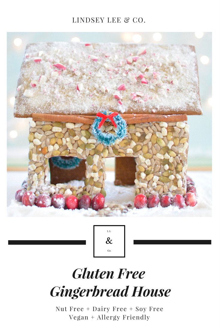 DIY Gluten Free Gingerbread House