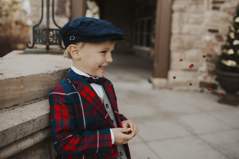 Boys holiday outfit ideas with Janie and Jack