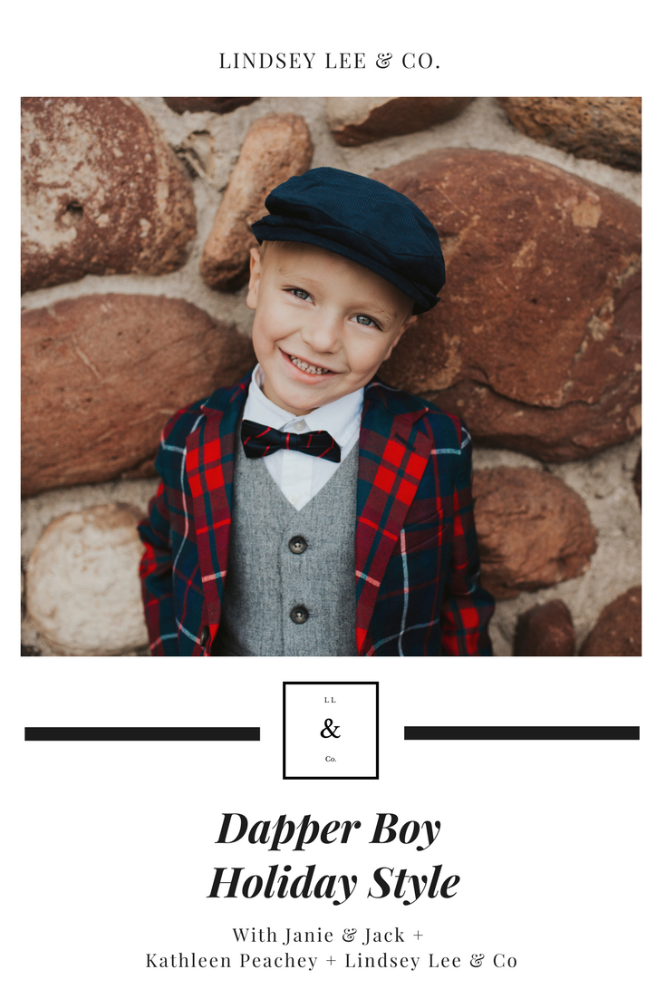 Dapper Boy Holiday Style