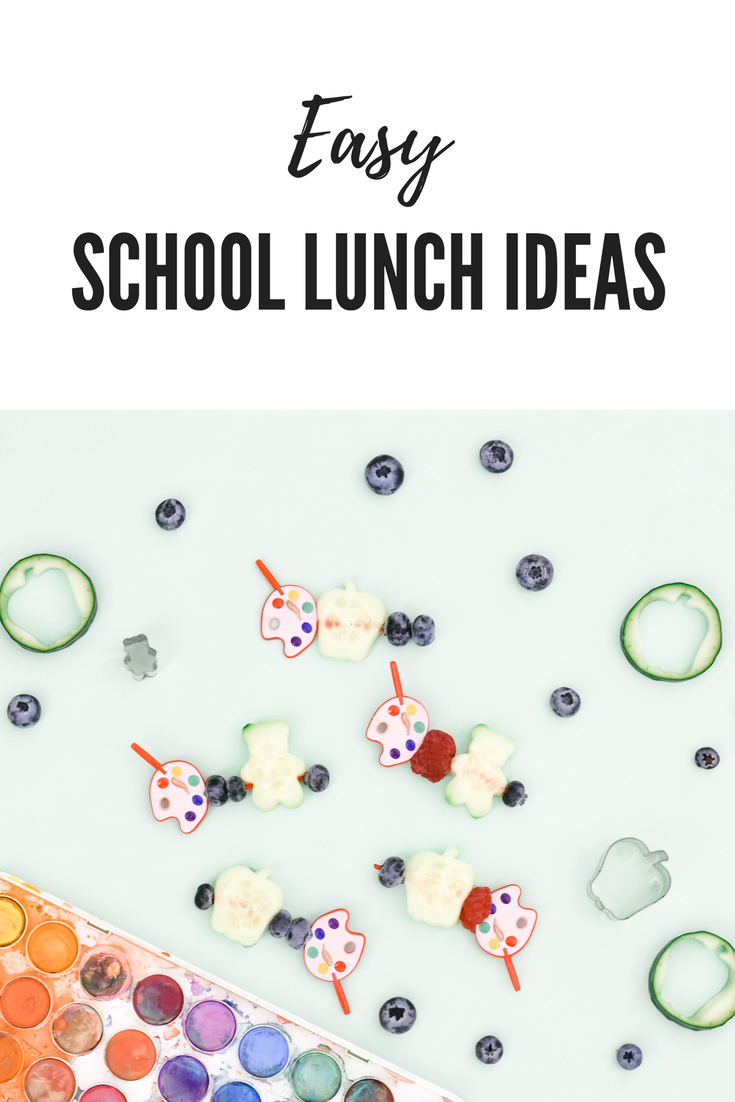 Easy School Lunch Hack, gluten free lunch ideas