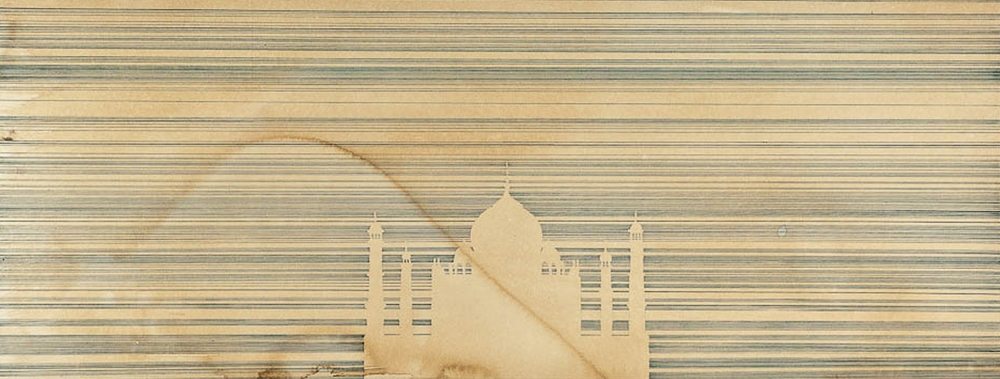 Taj Mahal (for Agnes Martin)