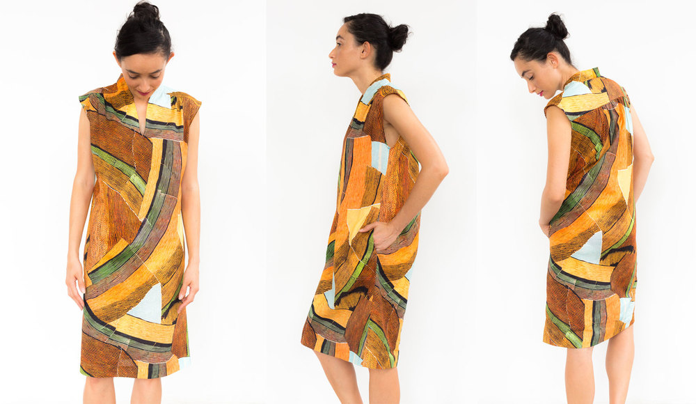Tiger Tiger Paperbag Dress