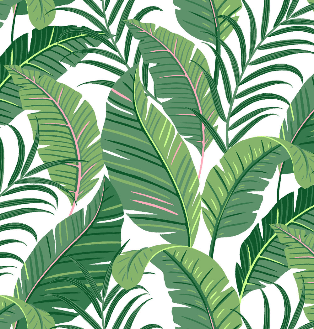 banana leaf print designed for Stella & Dot