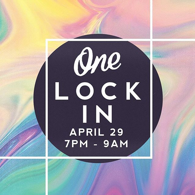 Don't forget to register for the Lock-In that is happening next Friday from 7pm-9am!! Thec3church.com