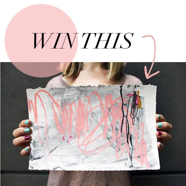This week I have paired up with Kelli Ryder from the blog, Leopard and Lavender. Visit her blog to see the design style pages she has paired with my paintings. This week we are also going to be doing an original drawing giveaway. Click here to find out how to win and stay tuned on Wednesday when we announce the winner!