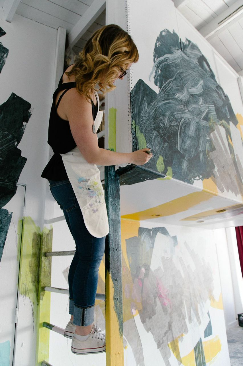 Making the Mural | Heather Day