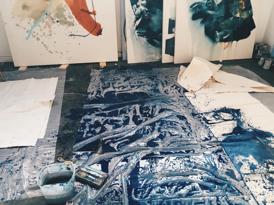 Heather Day's studio