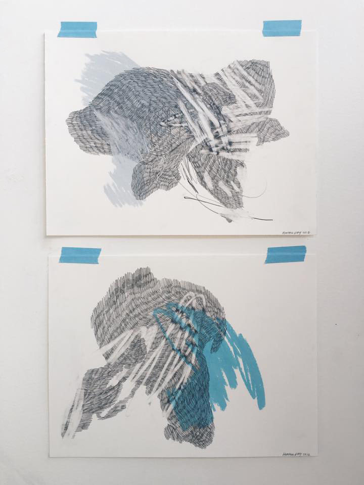 Drawing the Tides : New Drawings by Heather Day