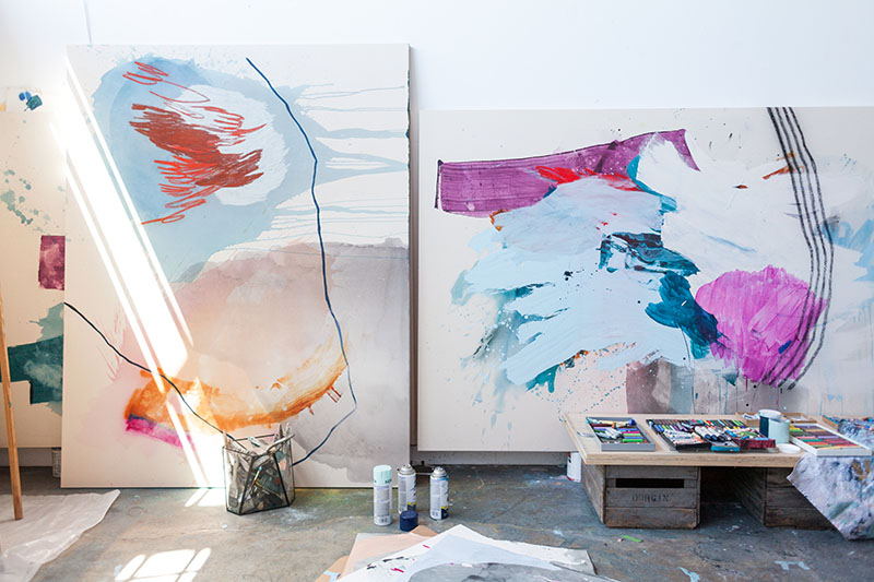 method in the studio | Heather Day Journal