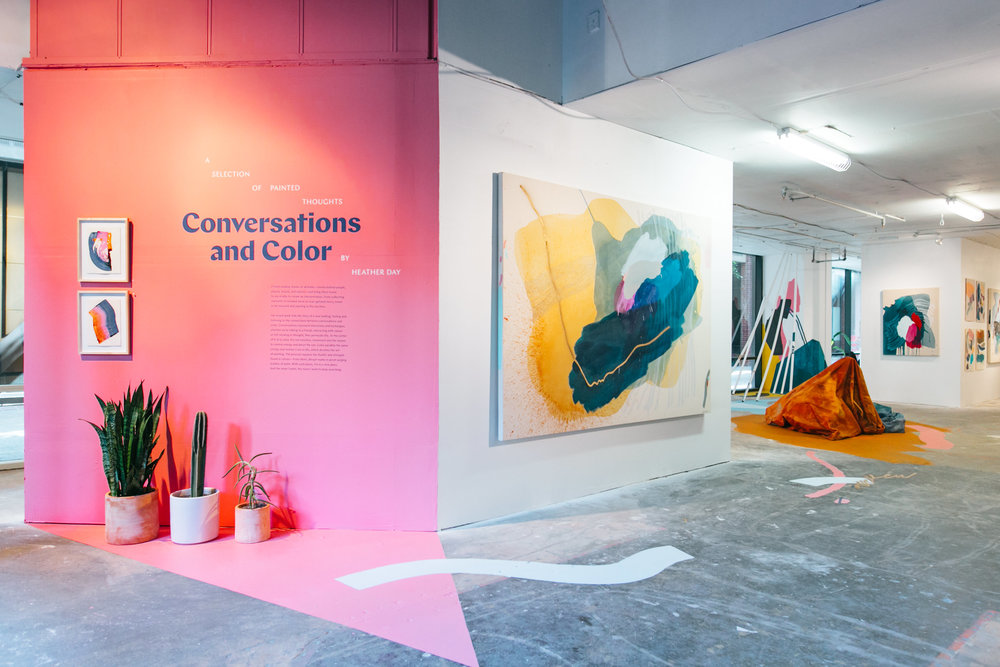 Conversations and Color by Heather Day