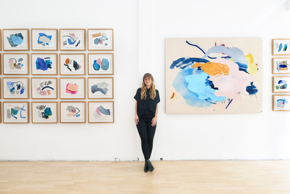 Keep Still, a collection of paintings by Heather Day at Hashimoto Contemporary 2018