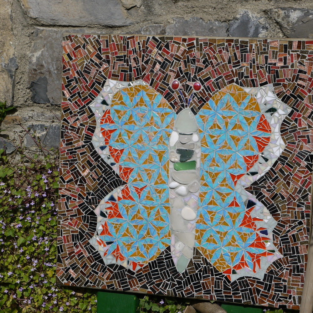 Butterfly 2 mosaic by Dawn Aston.JPG