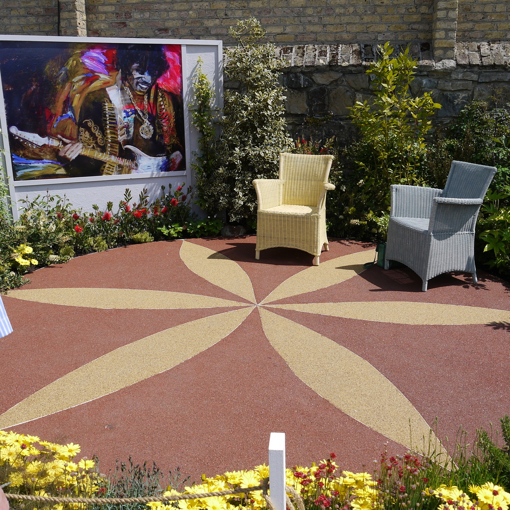 Dawn Aston's show garden at Bloom 13.JPG