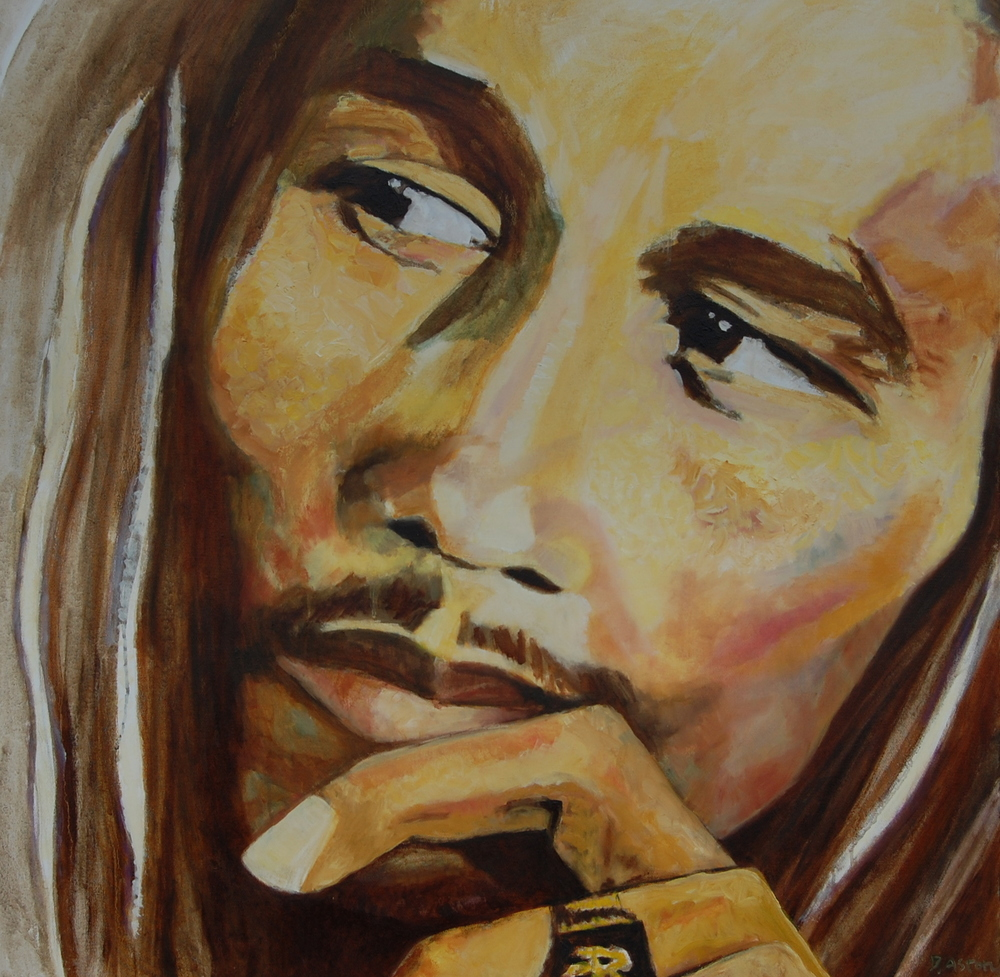 Bob Marley by Dawn Aston. oils on canvas.JPG