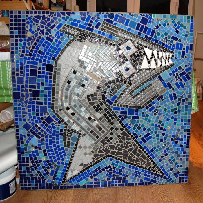 Dawn's Studio with mosaics.JPG