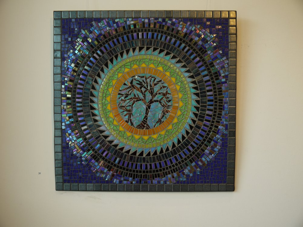 Dawn Aston.  Tree of Life Mandala mosaic. 1.jpg