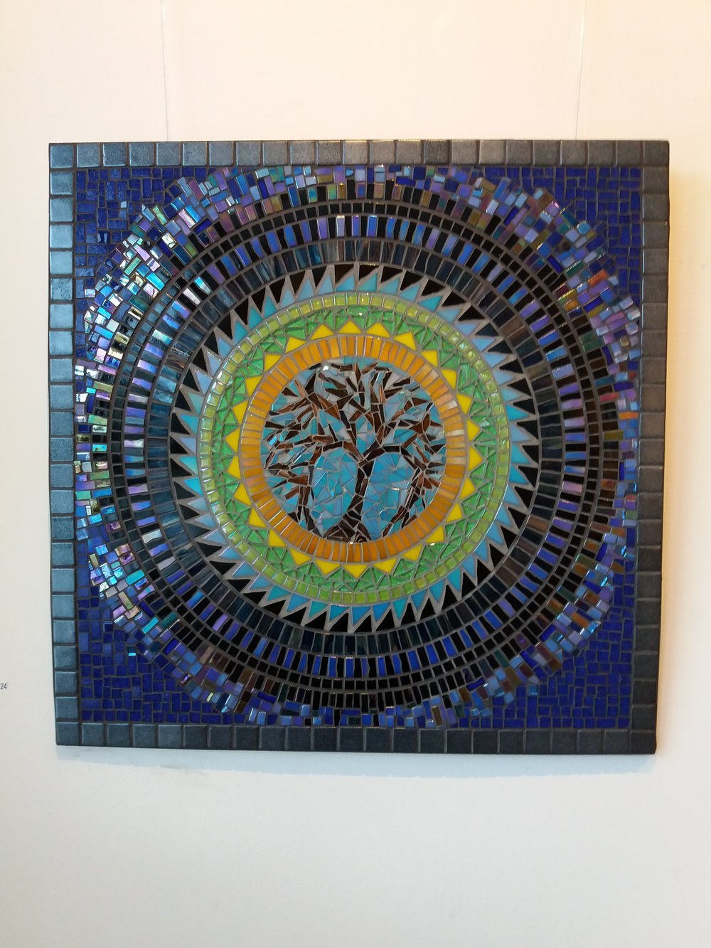 Tree of Life Mandala mosaic