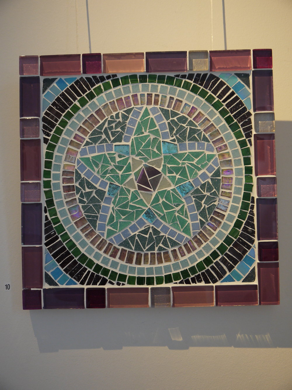 'Pentagram' mosaic