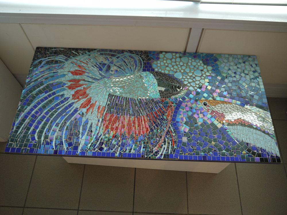 'Bettas' mosaic