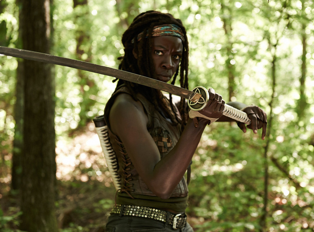 Danai Gurira (Michonne)  - The Walking Dead