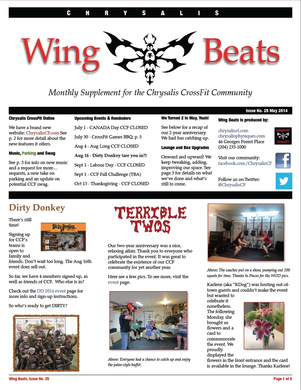 WingBeats Issue #25 - May 2014