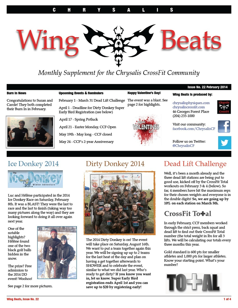 WingBeats Issue #22 - February 2014