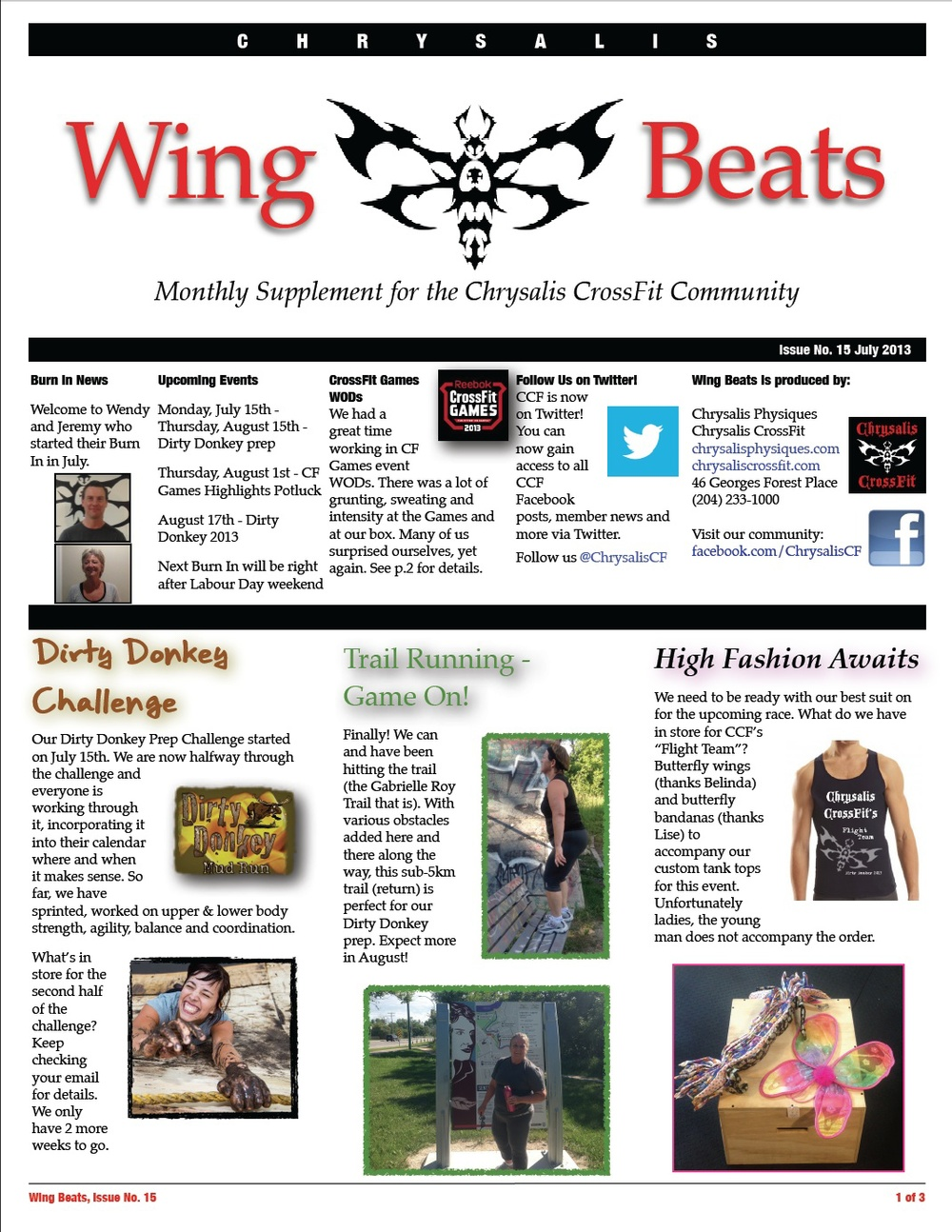 WingBeats Issue #15 - July 2013