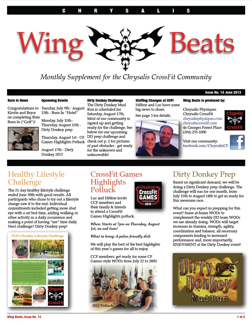 WingBeats Issue #14 - June 2013