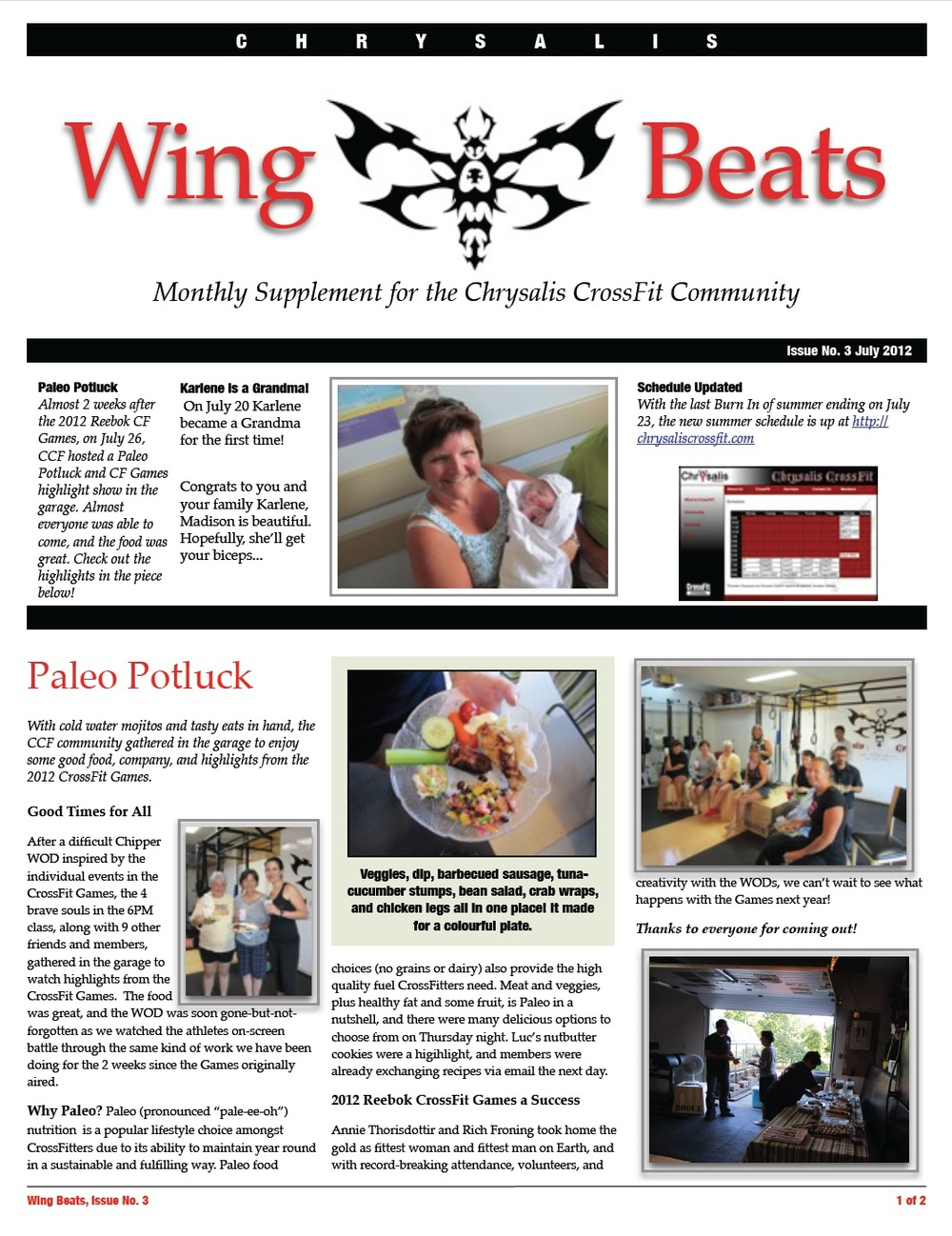 WingBeats Issue #3 - July 2012