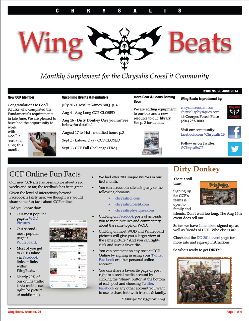 WingBeats Issue #26 - June 2014