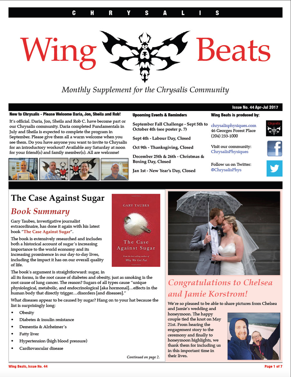 WingBeats Issue #44 - AprJul 2017 - part 1