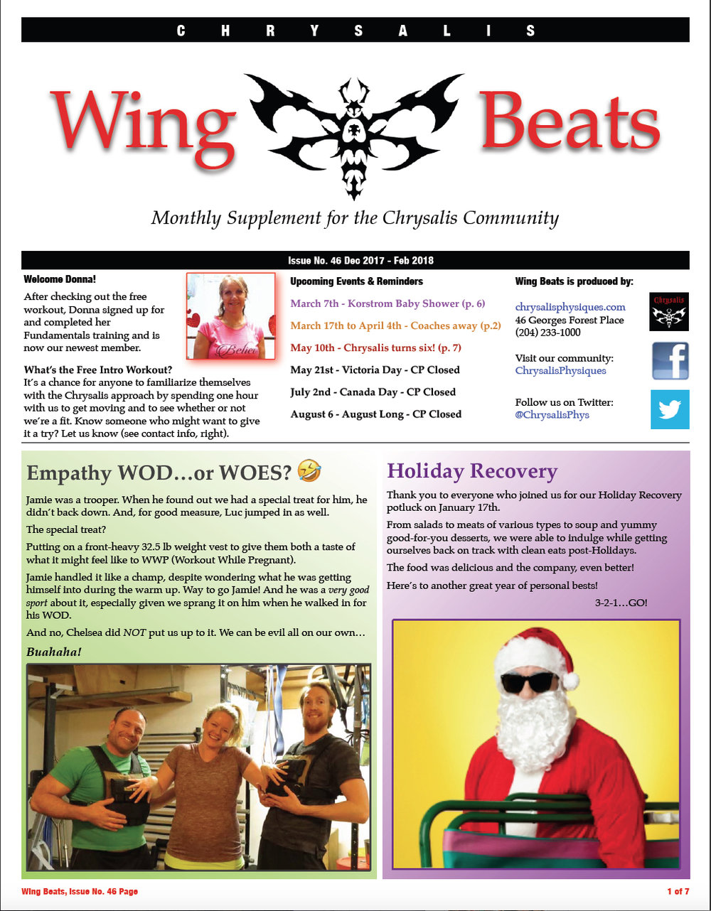 WingBeats Issue #46 - DecFeb 2018