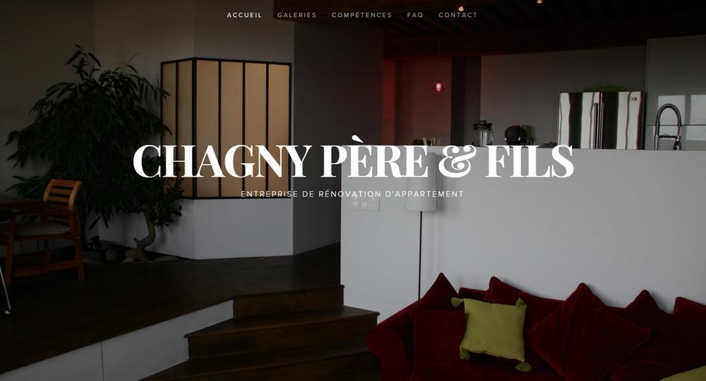 """Entreprise de rénovation d'intérieur """"Chagny Père & Fils"""""""