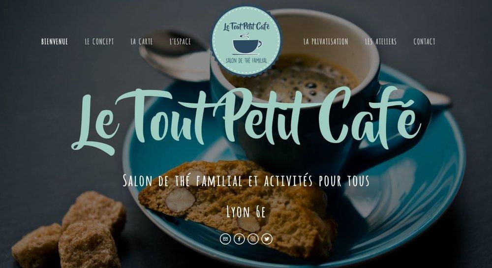 """Salon de thé familial """"Le Tout Petit Café"""""""