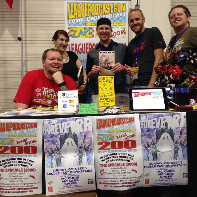 LeaguePodcast at Boston Comic Con 2014