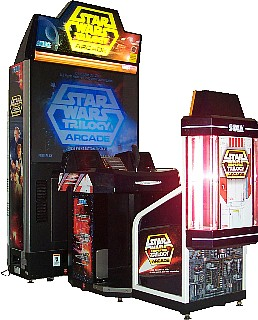 The vexing Star Wars Trilogy Arcade Game