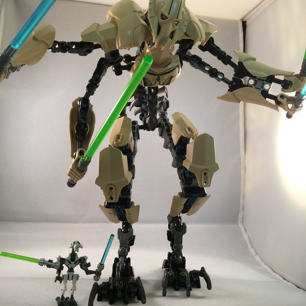 LEGO General Grievous... You're shorter than I expected.