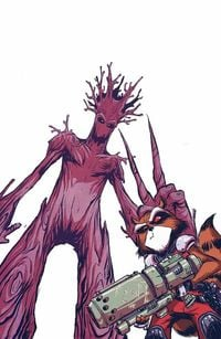 Rocket Raccoon & Groot #1
